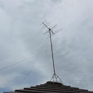 千葉県:船橋市前貝塚町にて、既存VHFアンテナ撤去処分へ