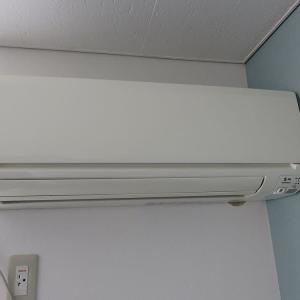 千葉県:鎌ヶ谷市鎌ヶ谷にて、アパート2F 40エアコン入替え工事