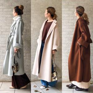 一枚仕立てのコートをびっくり価格で❤︎
