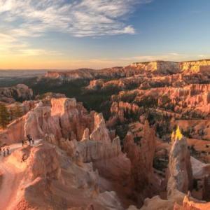 サンライズが一番の見どころ!ブライスキャニオン国立公園@アメリカレンタカー観光
