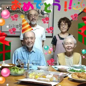 七夕は父の誕生日
