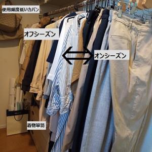 【アラフィフ夫婦】2人分の衣類管理