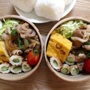 豚の生姜焼き弁当とあんちゃん