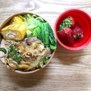 生姜焼き弁当と復活の日