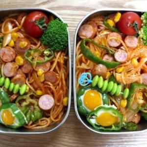 ナポリタン弁当と前田食堂と筋トレ