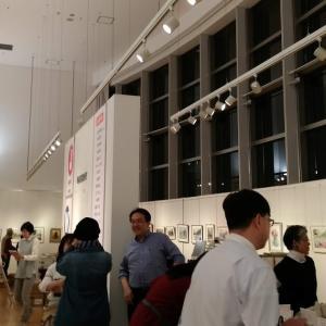 日本透明水彩会展17日(水)から。Japan Watercolor Society Exibition.