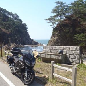 FJRで笹川流れ