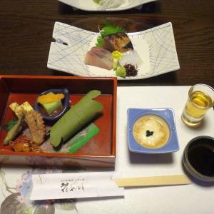 るり渓温泉④ こぶし荘 夕食は会席料理です