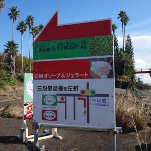 南紀白浜オリーブ&ジェラート工房(和歌山県白浜町) 三段壁の近くにあるジェラート屋さん