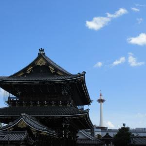 東本願寺(京都市下京区) ②静謐に満ちた堂内で心静かにお参りする