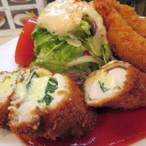 サラダの店サンチョ(四条河原町) メインばりのサラダも美味しい洋食屋さん