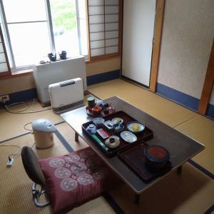 湯田中温泉 まるか旅館 ③朝食は別の部屋でいただきます