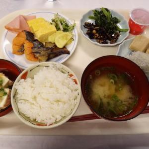 川湯温泉 みどりや ⑤朝食はビュッフェ、色々ありました。