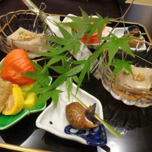 すみや亀峰菴 ⑤夕食前半、椀物まで