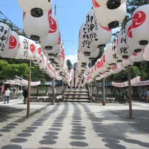 多賀大社(滋賀県多賀町) ①夏の風物詩「万灯祭」は8月3日から3日間の予定です