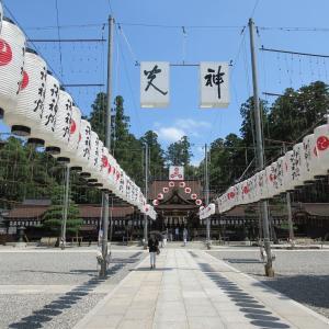 多賀大社(滋賀県多賀町) ②延命を祈る「寿命石」