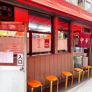 永楽@大井町 いつまでも熱くてなかなか食べられないもやしそば。