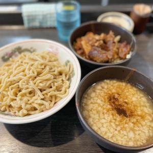 麺屋 婆娑羅@大岡山 角煮つけ麺(小)