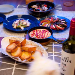 記念日の食卓