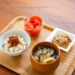 新生姜の季節&朝食