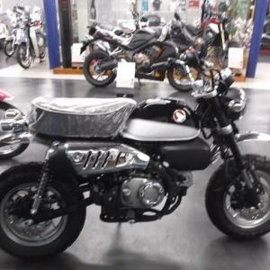 モンキー125(ブラック)。