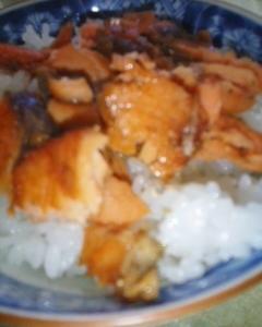 鮭ふりかけご飯