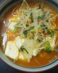 辛野菜ラーメン