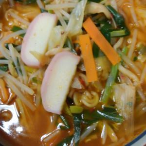 野菜辛ラーメン