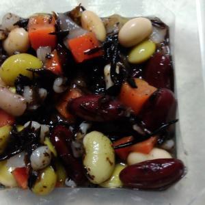 ひじきと豆サラダ