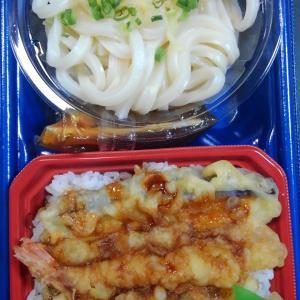天丼&天丼&讃岐うどんセット