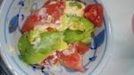 トマトとアボカドサラダ