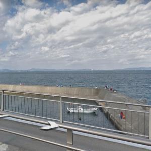大川漁港の釣り場とポイント|堤防、駐車場、釣具店、ハマチ、タチウオ、アオリイカ、青物