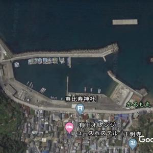 栖原漁港の釣り場とポイント|堤防、テトラ、チヌ、アジ、アオリイカ
