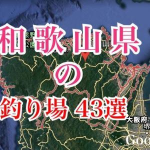 和歌山県の釣り場とポイント43選|漁港・公園・防波堤おすすめ釣りスポット、ファミリーフィッシング
