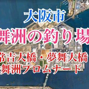 【舞洲】常吉大橋・舞洲大橋・舞洲シーサイドプロムナードの釣り場とポイント|チヌ、タチウオ、大阪市