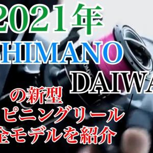 2021年発売のシマノ・ダイワの新型スピニングリール10モデル、新商品