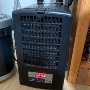 ゼンスイ水槽用クーラー ZC-100αインプレ 作動音が静か 60cm水槽