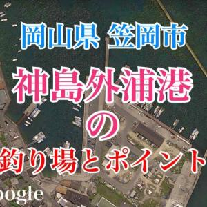 神島外浦港の釣り場とポイント チヌ、ママカリ、ハゼ、サヨリが釣れるスポット、笠岡市