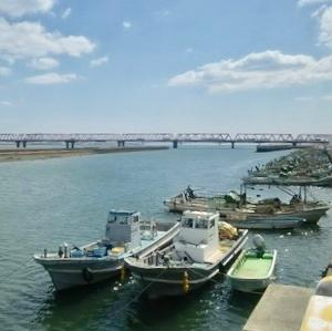 赤須賀漁港の釣り場とポイント|ハゼ釣りの人気スポット 揖斐川 河口付近