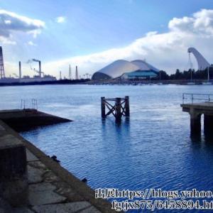 「ドーム対岸」と「ゆめくじら」の釣り場とポイント|霞埠頭 メッキ シーバス ハゼ