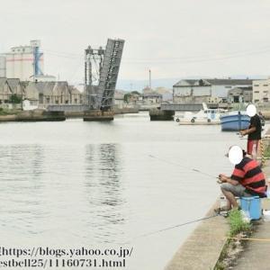 【跳ね上げ橋】臨港橋と末広橋の釣り場情報|人気のハゼ釣りスポット 四日市市