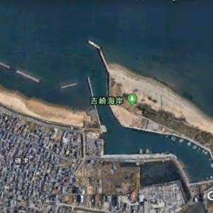 磯津漁港と吉崎海岸・磯津の浜の釣り場・ポイント情報|釣れる魚 投げ釣り ヒラメ マゴチ