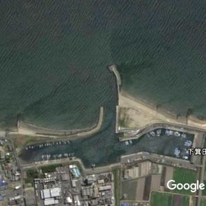 箕田海岸・排水機場、箕田公園付近の釣り場を紹介|投げ釣りスポット