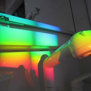 洗面所の虹