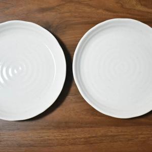 ニトリの食器 粉引 25cm丸皿使った感想