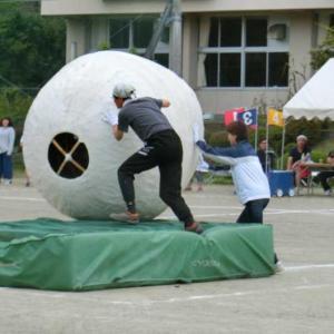 今週は小学校で運動会。・・・やはり親も走る!
