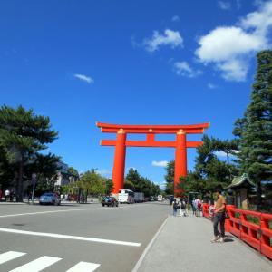 京都~観光とグルメの旅5~平安神宮前で一休み