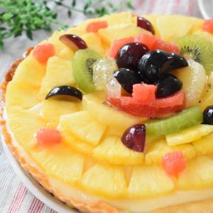 【プライベート】お誕生日ケーキはフルーツタルトです