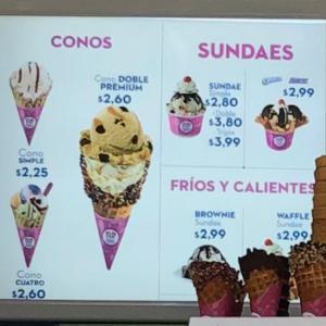 サーティワンアイスクリームなのに、アイスがたったの10種類!