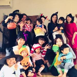 英語de楽しむハロウィンパーティー&ベジランチ付き〜!!今年もめっちゃ楽しみます^^!!